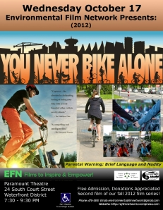 You Never Bike Alone Film Poster